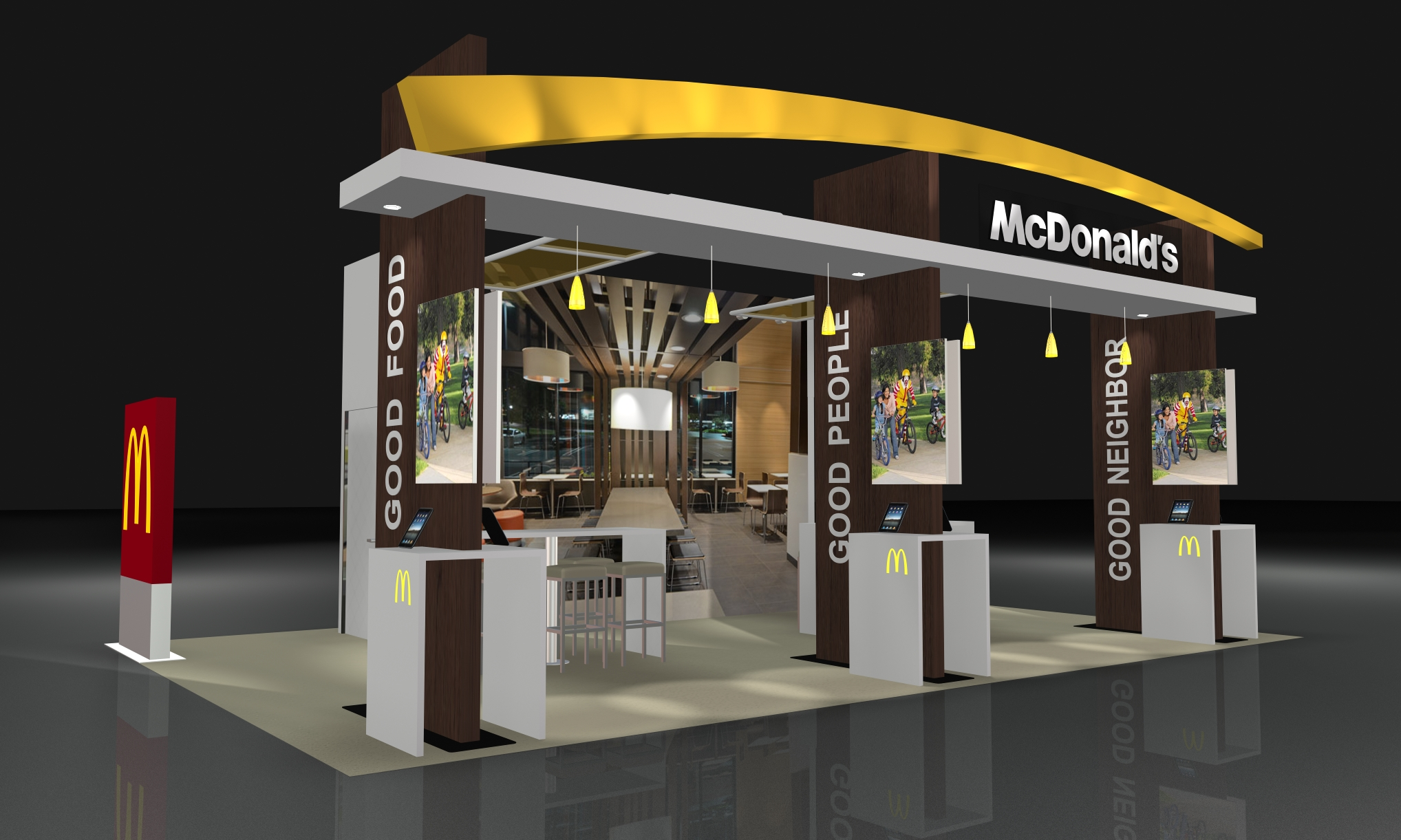 Awesome Trade Show Booth Design Saudi · Image Source